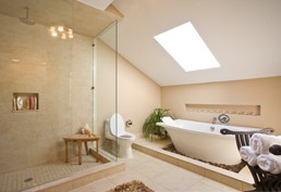 Neutral fitted bathroom