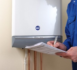 Boiler servicing and new boilers